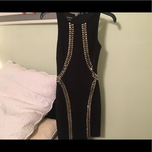 Bebe Black formal dress
